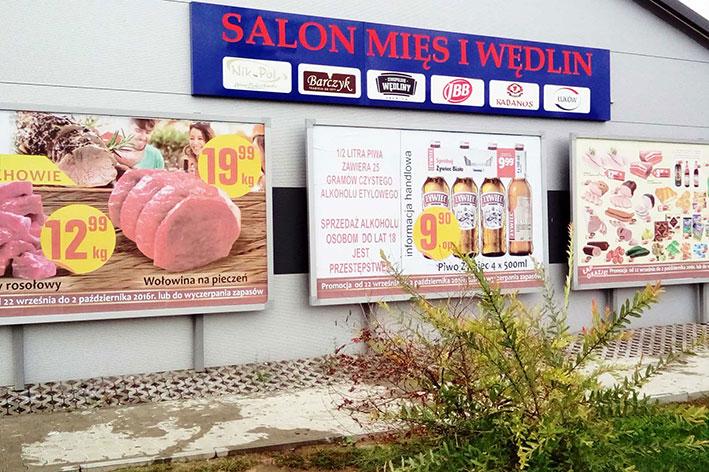 Klasyczna Reklama Świetlna z Dibondu to świetny wybór dla lokali które cenią prostotę i elegancję w jednym.