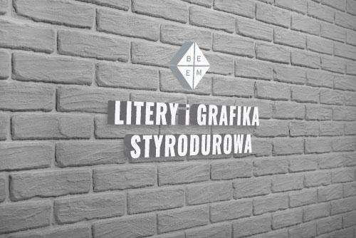 Litery i Grafika Styrodurowa - kliknij aby dowiedzieć się więcej